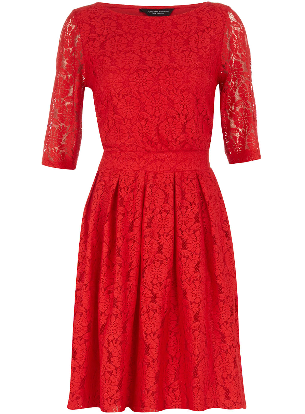 Dorothy Perkins red lace dress