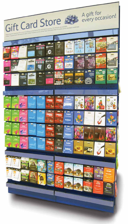 Due to Dave being a teacher and a coach (and our well-known love of gift cards) we usually have an ample supply of gift cards to various restaurants, shopping centers, gas stations, bookstores, movie theaters, online venues, etc.