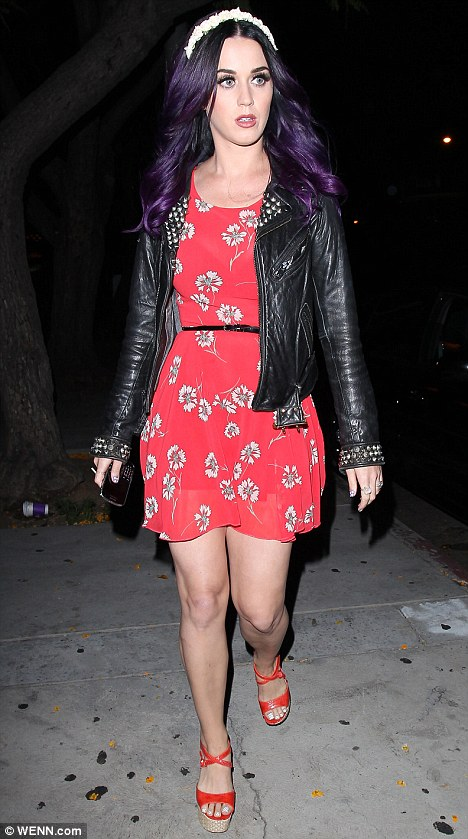 Pics For Katy Perry Casual Style 2012