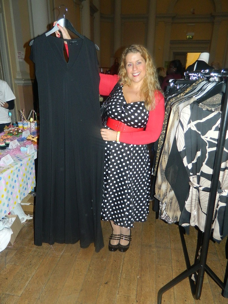 3f52932349b Caroline from Curvy Wordy with her fave dress from the Live Unlimited Range