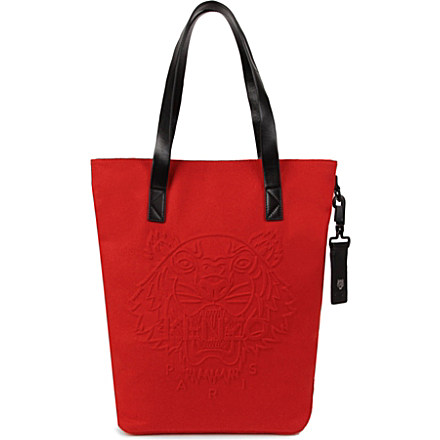 1d4175c430fe KENZO Wool tiger shopper £195 click to visit Selfridges. MULBERRY Effie  small spongy pebbled ...