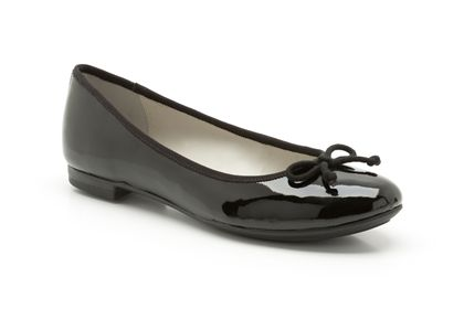 Carousel Ride Black patent £29.99 click to visit Clarks