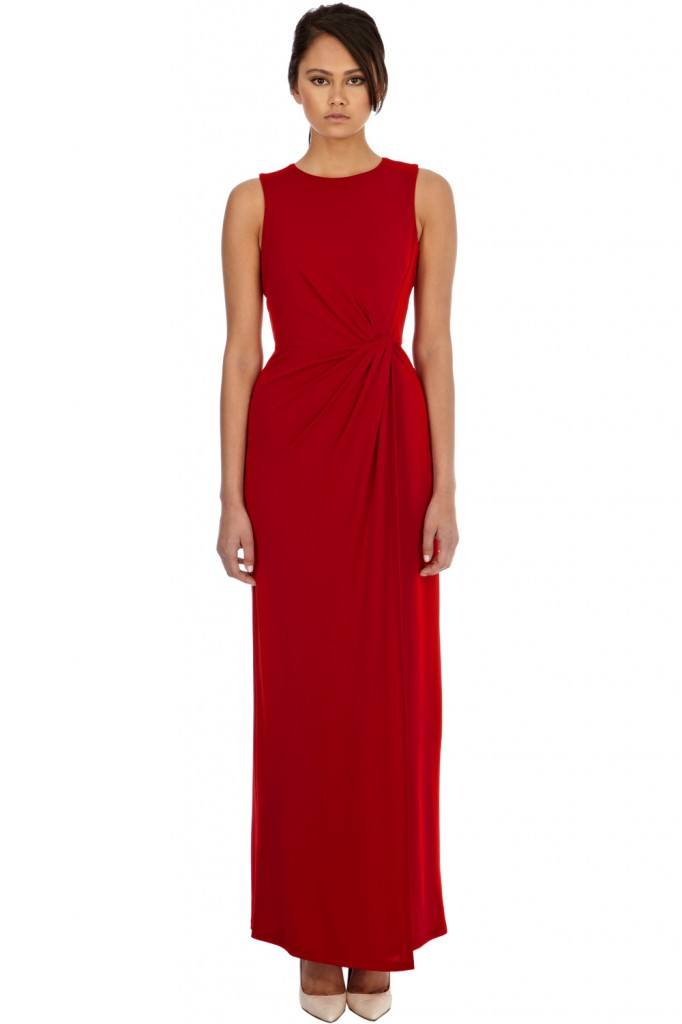 TWIST FRONT MAXI DRESS Price: £65.00 click to visit Warehouse