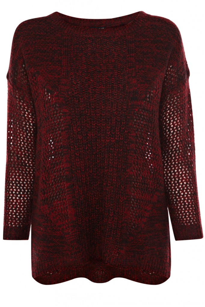 Rib Front Stitch Jumper Price: £36.00 click to visit Warehouse