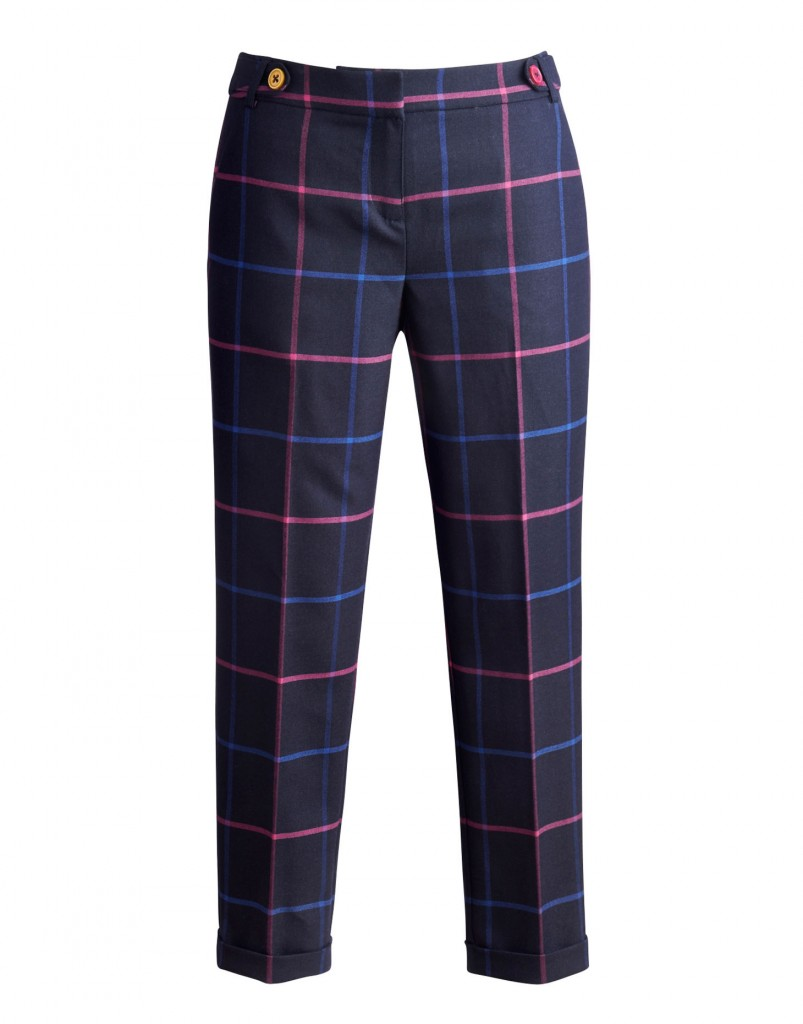 LYNDEN Womens Checked Trousers £79.95 click to visit Joules