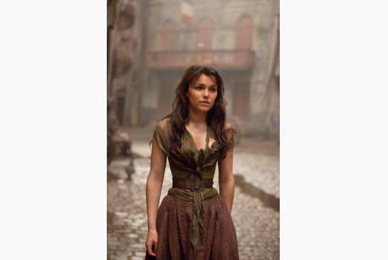 Sam Barks as Eponine in Les Miserables