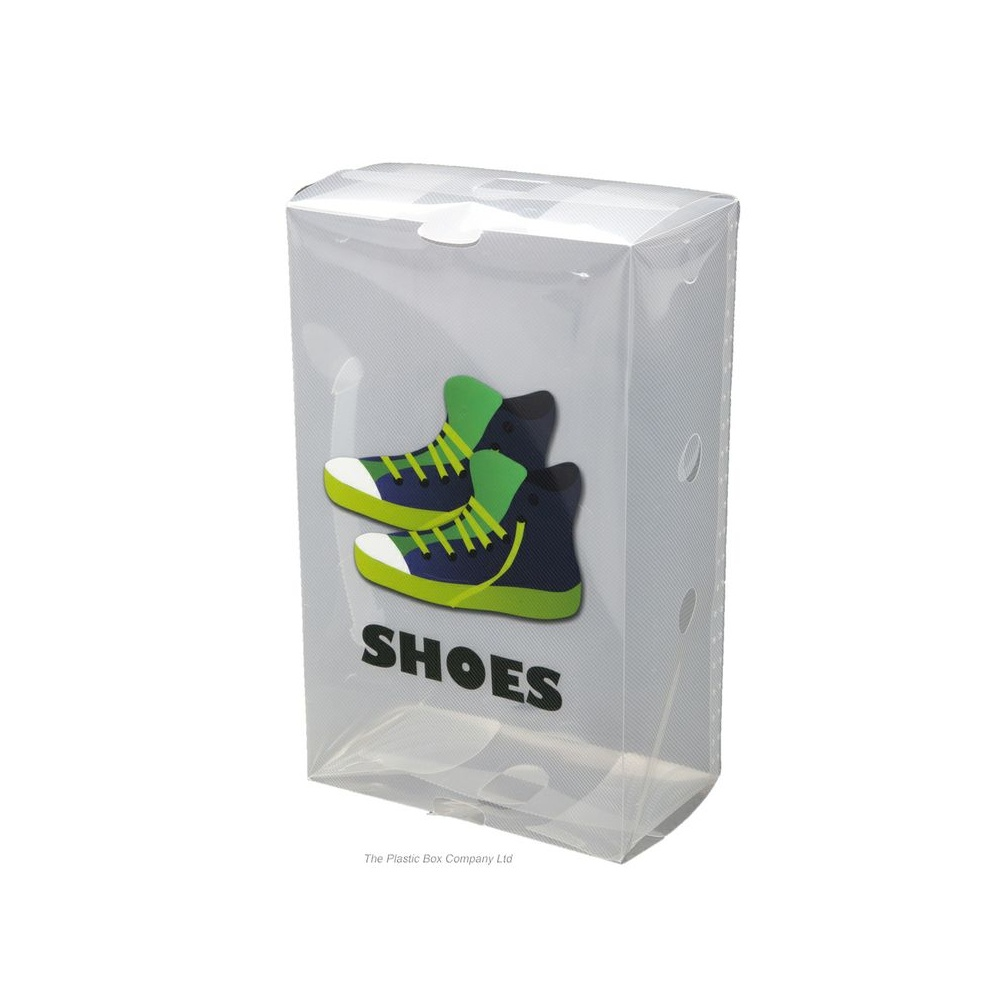 Plastic Shoe Box for Mens Shoes code:KMMS £1.51 (inc. VAT) click to visit Plastic BoxShop