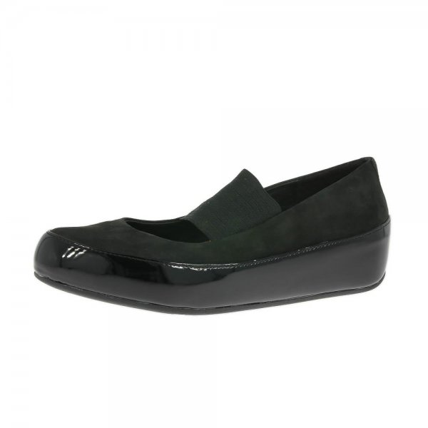 FitFlop Shoes Due M-J Black Nubuck £84.95 click to visit Shoetique