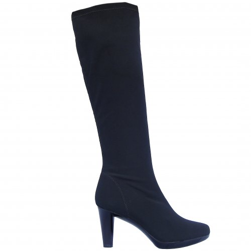 Rapisardi Positano knee-length stretch boots in black Free UK Delivery Size Guide Rapisardi Positano knee-length stretch boots in black Free UK Delivery Size Guide £98.00 £98.00