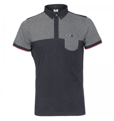 WEEKEND OFFENDER Weekend Offender Nero Panel Polo Shirt Navy Product Reference: 49039 Size Guide £54.95 click to visit Infinities