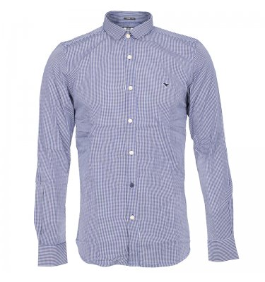 WEEKEND OFFENDER Weekend Offender Foo Fighter Shirt Blue Product Reference: 49036 Size Guide £69.95 click to visit Infinities