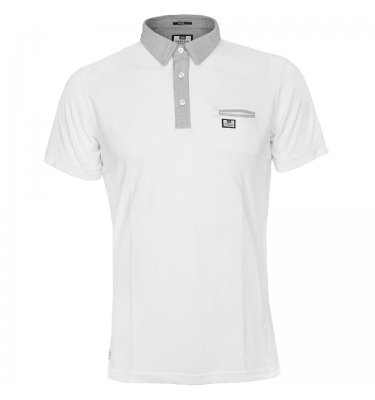WEEKEND OFFENDER Weekend Offender Horro Polo Shirt White Product Reference: 49038 Size Guide £54.95 click to visit Infinities