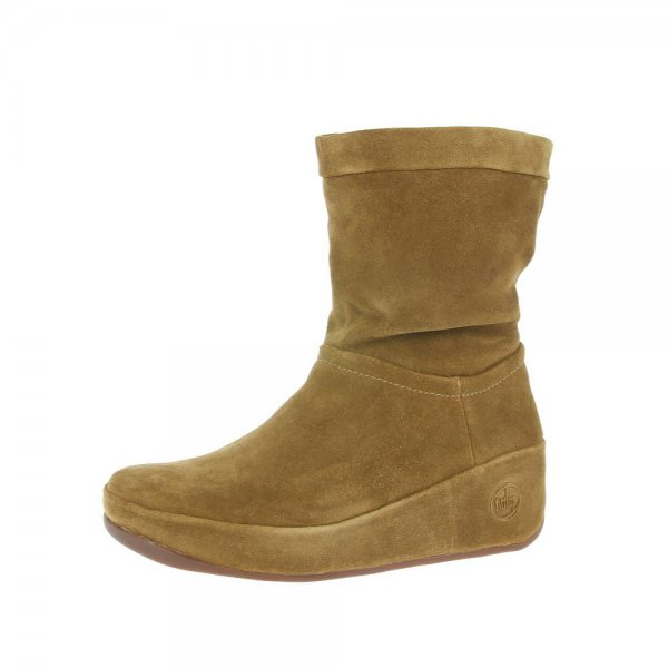 FitFlop Boots FitFlop Crush Brown Sugar Now From £119.95 click to visit Shoetique