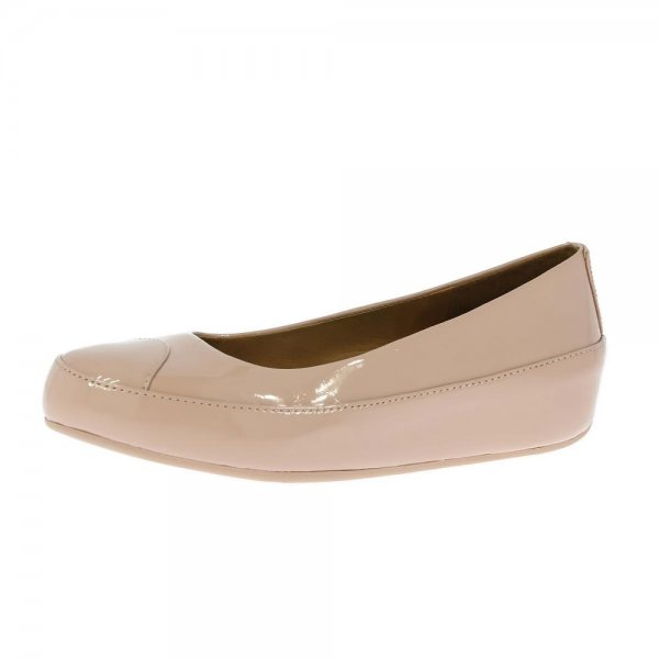 FitFlop Shoes Due Patent Nude £84.95 click to visit Shoetique