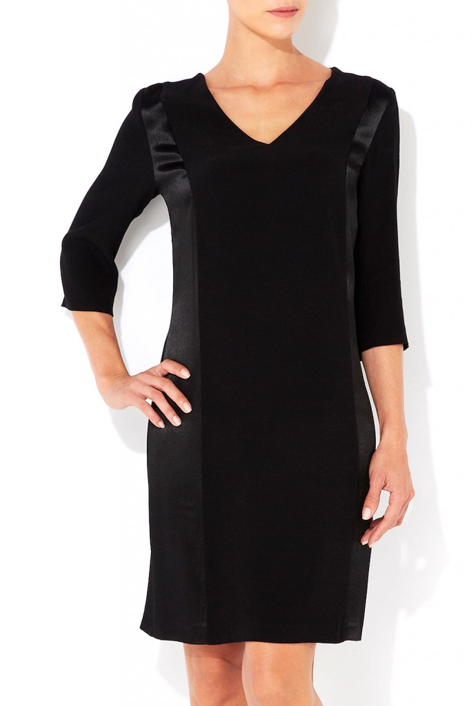 Black Panel Dress     Was £45.00     Now £20.00 click to visit Wallis
