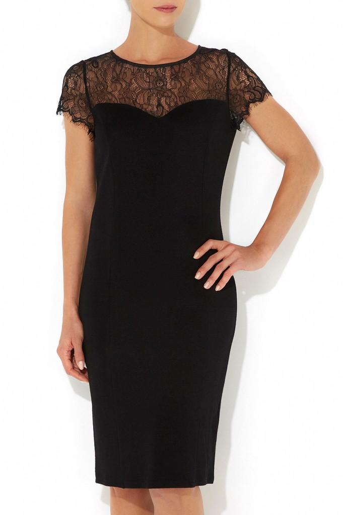 Black Lace Shift Dress     Price: £38.00 click to visit Wallis