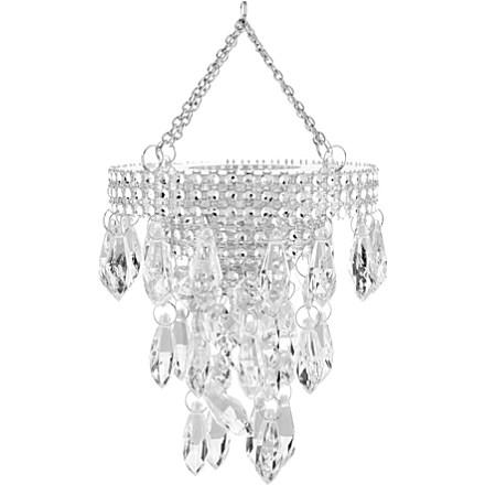 CHRISTMAS Mini hanging chandelier £10.95 click to visit Selfridges