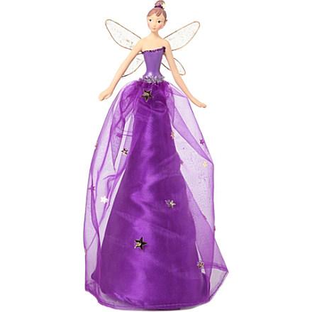 GISELA GRAHAM Tree topper fairy 28cm     £21.95 Click to visit Selfridges
