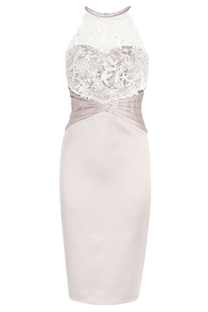 VALANCE DUCHESS SATIN DRESS £180.00 click to visit Coast