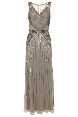DECO MAXI DRESS £395.00 click to visit Coast