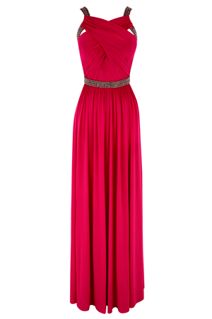 LAUDER JERSEY MAXI DRESS £195.00 click to visit Coast