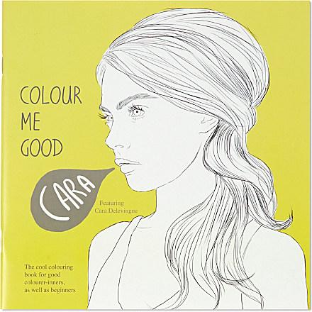 I LOVE MEL Cara Delevingne colouring book £8.00 click to visit Selfridges
