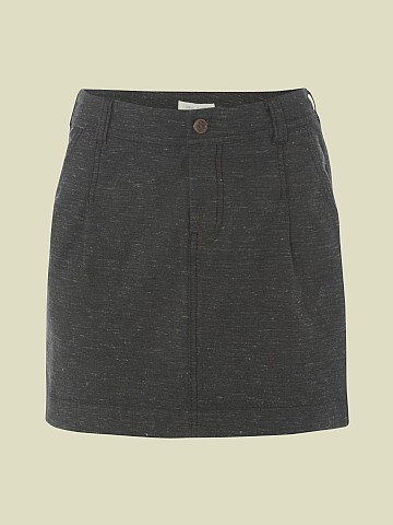 TWEED DENIM MINI SKIRT £37.50 click to visit White Stuff