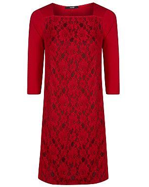 Lace Panel Shift Dress £18.00 click to visit George at Asda