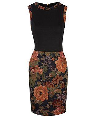 Floral Mix Dress £18.00 click to visit George at Asda