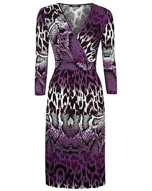 Moda Snake Print Jersey Dress £16.00 click to visit George at Asda