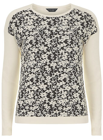 Baroque floral jersey knit     Price: £22.00 click to visit Dorothy Perkins