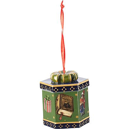 VILLEROY & BOCH My Christmas Tree green gift box ornament £12.95 click to visit Selfridges