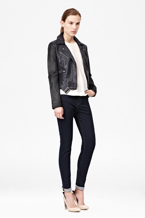 Athena Colour Block Biker Jacket £97.00 click to visit French Connection