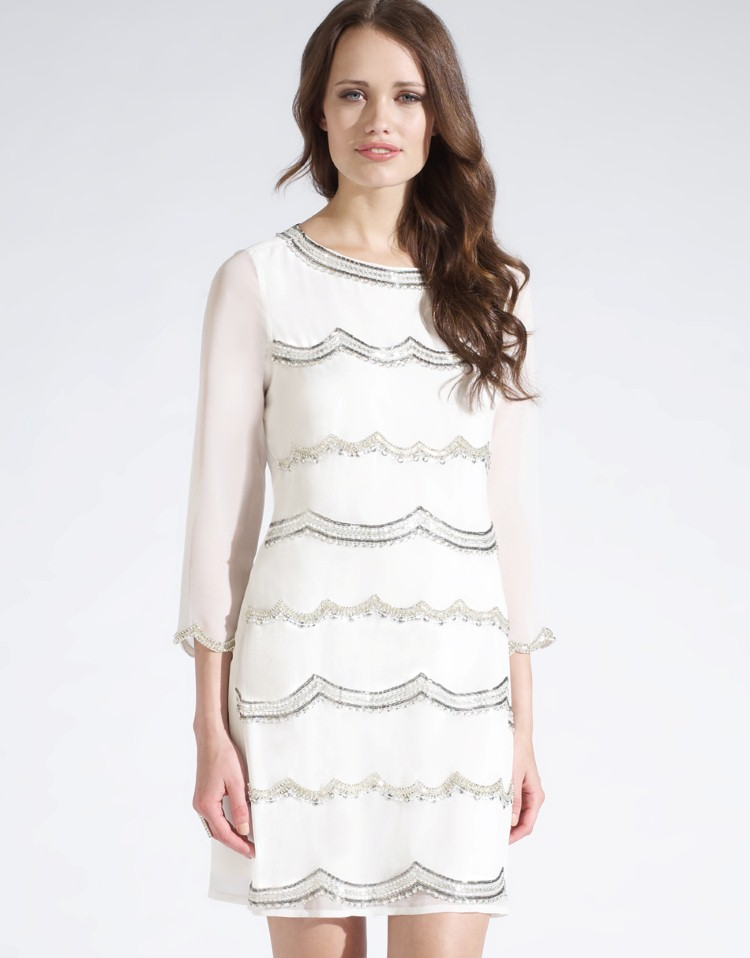 Lipsy Embellished Shift Dress £70.00 click to visit Lipsy