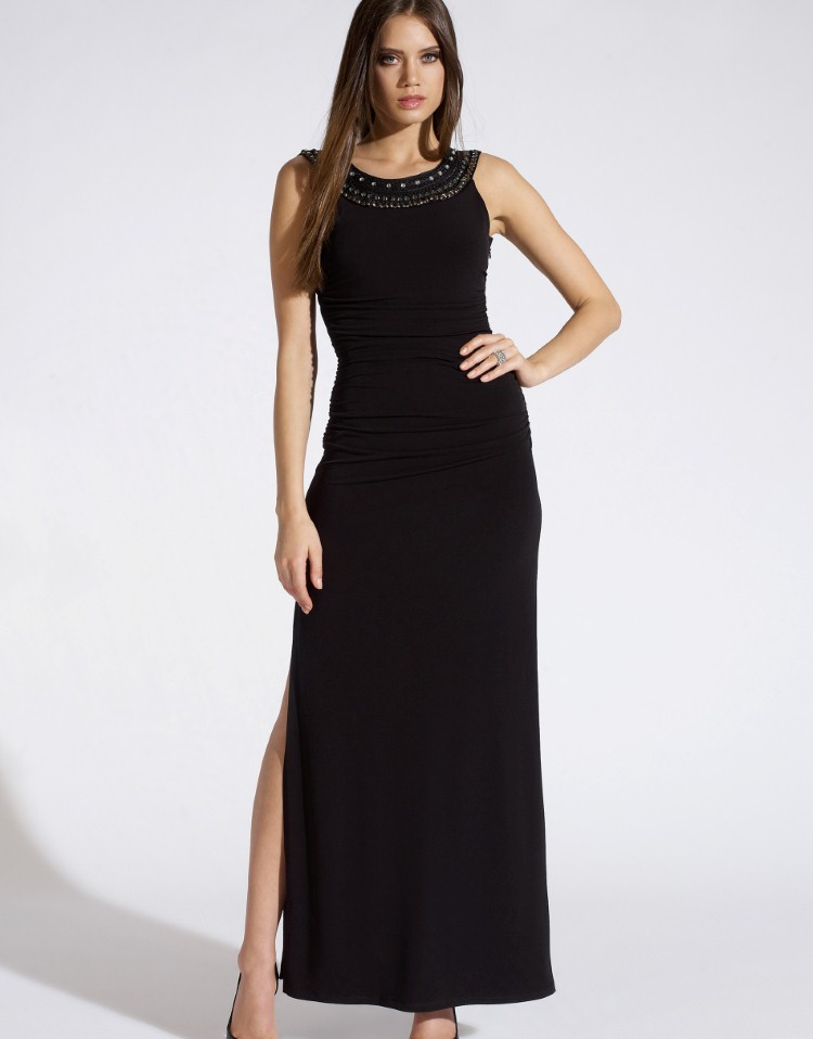 Lipsy Jewelled Neck Maxi Dress £65.00 click to visit Lipsy