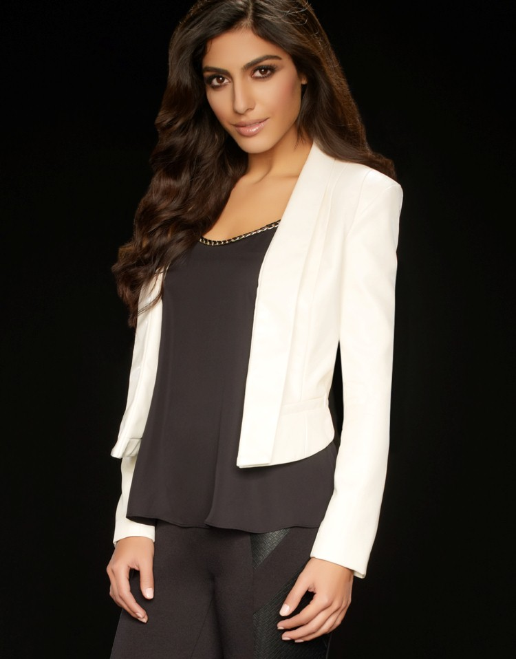 Kardashian Cropped Tux £75.00 click to visit Lipsy