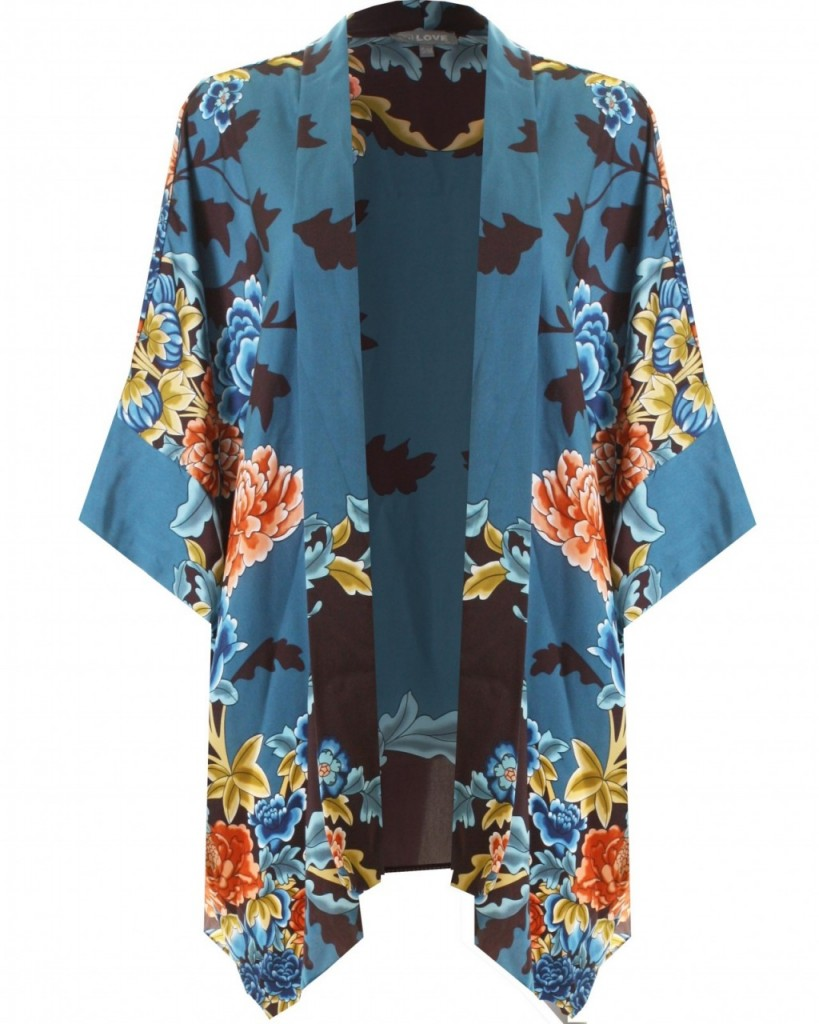 LOVE Japanese Floral Kimono £40.00 click to visit Love