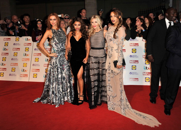 ROCHELLE HUMES Wears Dress by Yuvna Kim Price on Application