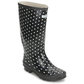 MISS CHIC WIDE Black / White  £ 27.99 Click to visit Spartoo