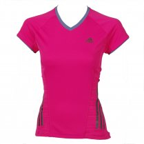 adidas Supernova Women's Running Short Sleeve Tee Pink £28 click to visit Tony Pryce