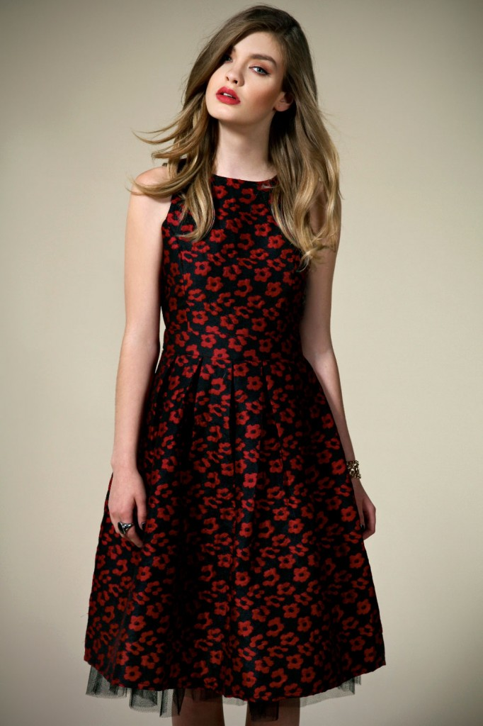 Boutique Isla Brocade Floral Midi Length Prom Dress Product code: azz45894 £40.00 click to visit Boohoo