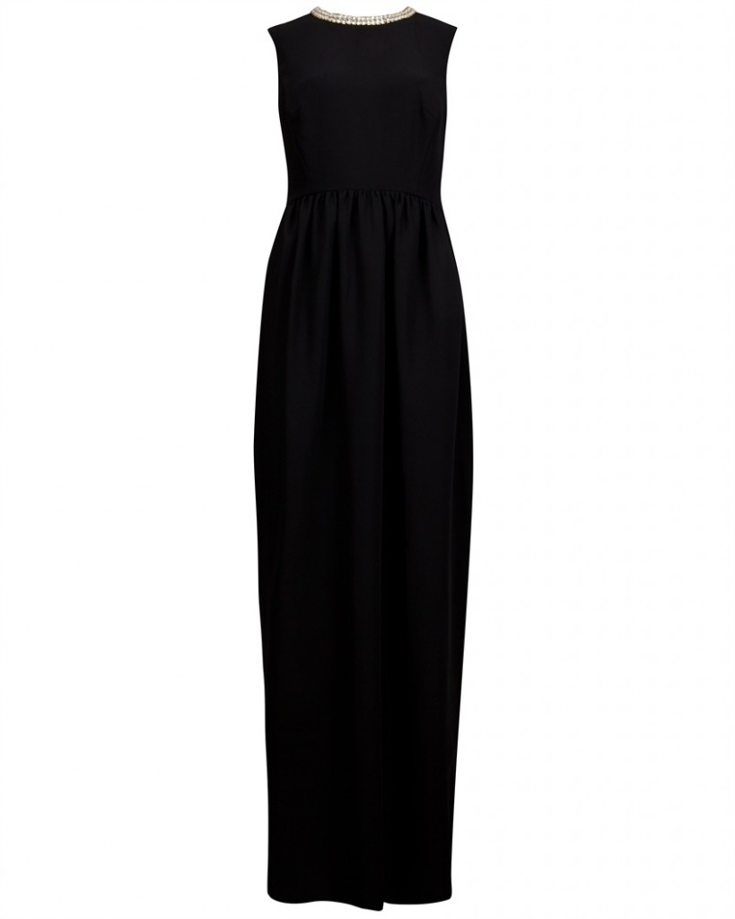 EVERLAS - Beaded collar maxi dress - £299  click to visit Ted Baker