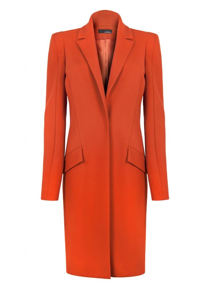 Lyza Pant in Cinnamon: click to visit Amanda Wakeley