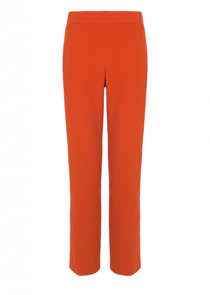 Lyza Pant in Cinnamon click to visit Amanda Wakeley