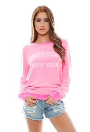 HAMPTONS, NY BAGGY BEACH JUMPER £101 click to visit Wildfox