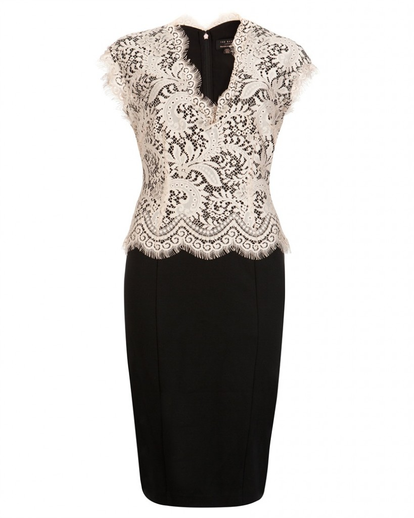 SARVANI - Lace bodice dress - £169 click to visit Ted Baker