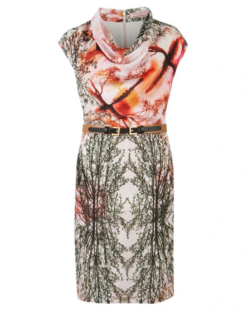 CAMLLA - Landscape print dress - £159 click to visit Ted Baker