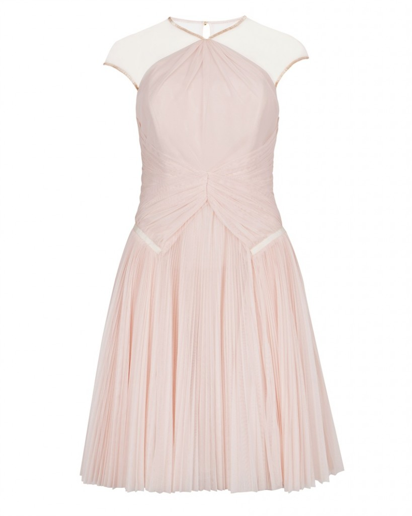 TRIXXY - Pleat detail evening dress - £399 click to visit Ted Baker