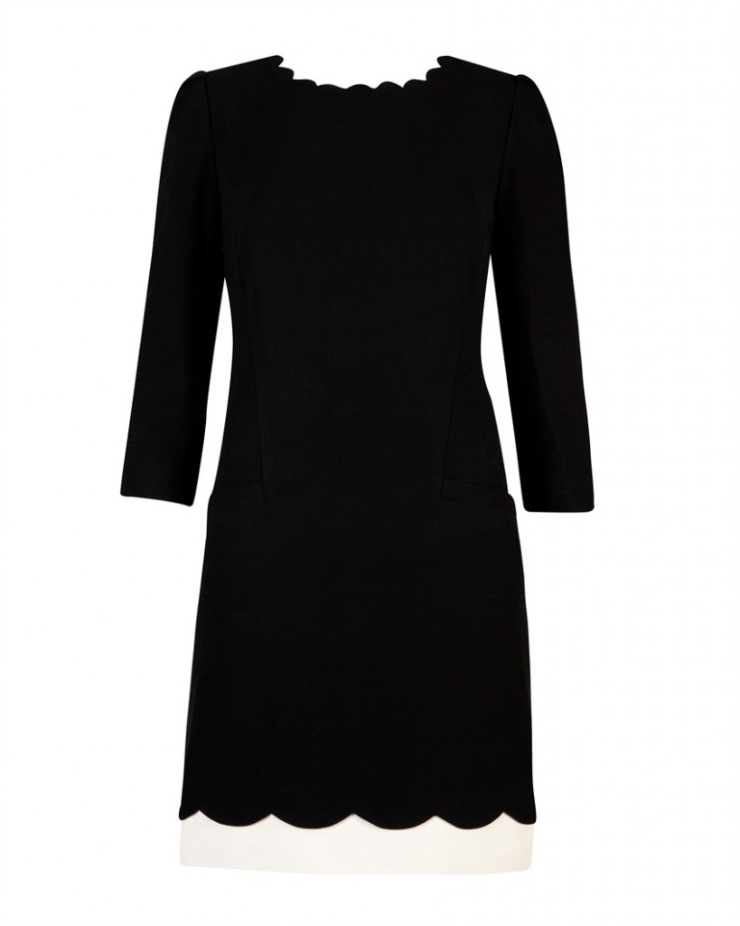 PAYTON - Scallop detail dress - £159 click to visit Ted Baker