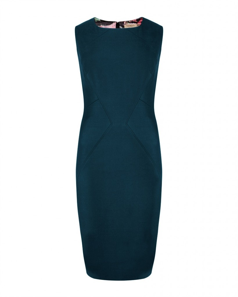 YAFFAD - Shiny lavanta suit dress - £159 click to visit Ted Baker